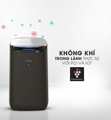 Giải pháp khử mùi và lọc bầu không khí trong gia đình với máy lọc không khí Sharp