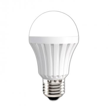 Đèn LED bulb thân nhựa A50 Điện Quang ĐQ LEDBU A50 03765 (3W daylight/Warmwhite chụp cầu mờ)