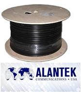 Cáp đồng trục GR6-Coaxial cable Alantek RG-6 Standard Shield with Floofing Compound