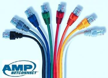 Patch cord AMP CAT.6 UTP (1,2m-1,5m-2m-3m)