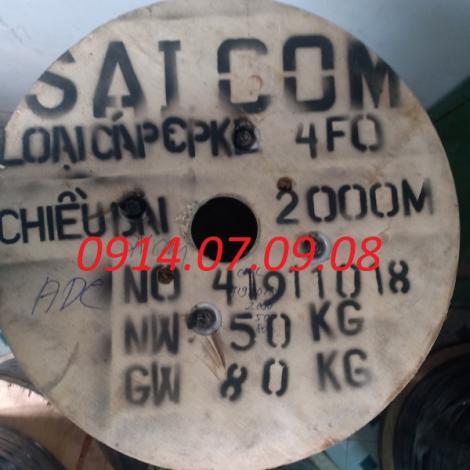 Dây thuê bao quang ngầm 4FO Saicom (DAC4)