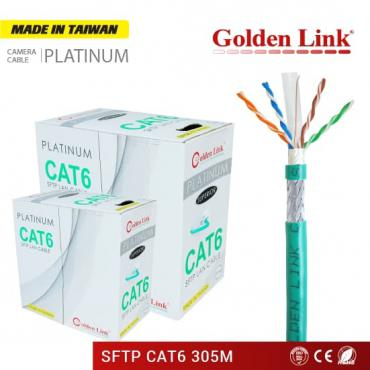 CÁP MẠNG GOLDEN LINK PLATINUM SFTP CAT 6 – MADE IN TAIWAN