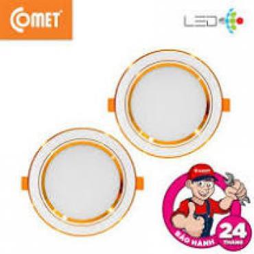 Đèn Led Âm Trần ĐỔI MÀU Siêu Mỏng 7W COMET Standard Series CD03M