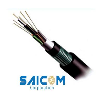 Cáp quang luồn cống phi kim loại DU12 Saicom