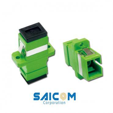 Adapter quang SC/APC to SC/APC Single-mode Simplex