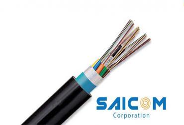 Cáp quang luồn cống kim loại DU4 Saicom
