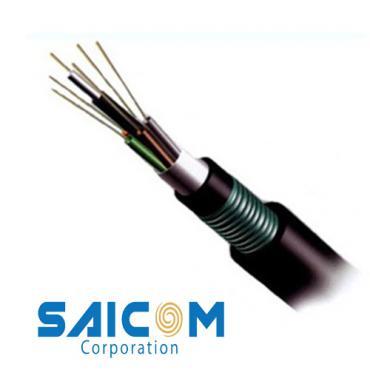 Cáp quang luồn cống kim loại DU12 Saicom
