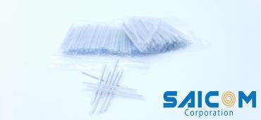 Ống co nhiệt hàn cáp quang 1.2x60mm 100pcs/pkg