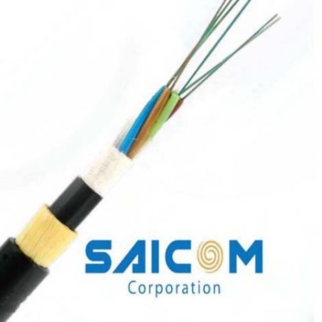 Cáp quang treo phi kim loại ADSS4 Saicom