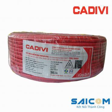 Dây Điện Cadivi Mềm Bọc Nhựa PVC - VCmo