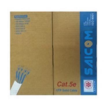 Cáp mạng Cat5e UTP 4x2x0.5 Saicom