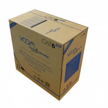 Cáp Mạng VCOM Cat 6 UTP Standard Solid 305m