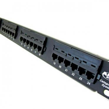 Thanh đấu nối Patch panel 24 port CAT5E AMP