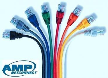 Dây đấu nhảy Patch cord AMP CAT.5E UTP (1,2m-1,5m-2m-3m)