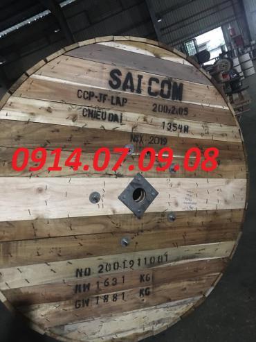 Cáp điện thoại ngầm 200 đôi Saicom 200x2x0.5