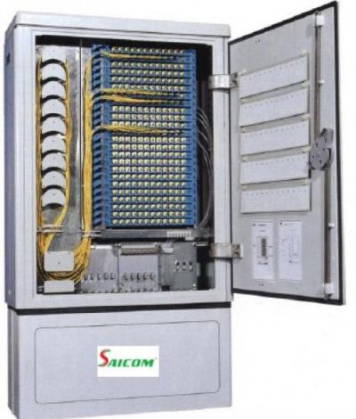 Tủ điện thoại sắt 600P Saicom