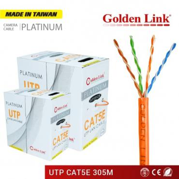 CÁP MẠNG GOLDEN LINK PLATINUM UTP CAT 5E – CAM MADE IN TAIWAN