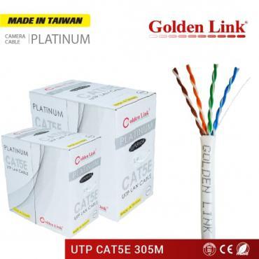 CÁP MẠNG GOLDEN LINK PLATINUM UTP CAT 5E – TRẮNG MADE IN TAIWAN
