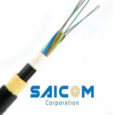 Cáp quang tự treo phi kim loại ADSS144 Saicom