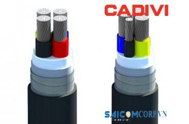 Dây cáp điện Cadivi AVV/DATA 0,6/1 KV & AVV/DSTA 0,6/1 KV