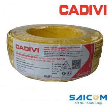 Dây Điện Cadivi Bọc Nhựa VCmd-0.6/1kV