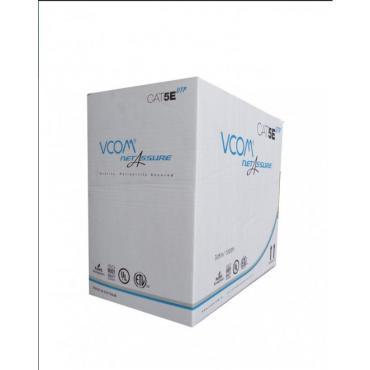 Cáp Mạng VCOM Cat 5E UTP Standard Solid 305m